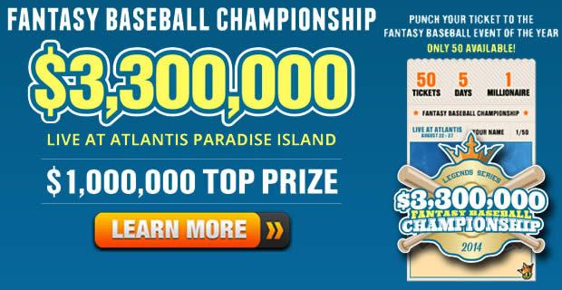 2014 Fantasy Baseball Sleepers - Play Fantasy MLB For Money